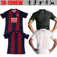 2fc3a8894 18 19 SD Eibar Soccer Jersey Futbol Camisetas Sociedad Deportiva Eibar  Camiseta de fútbol Camisa Maillot