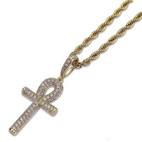 Newest Unisex Necklace retro anhe' s key hip hop jewelry...
