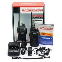 الجملة BAOFENG BF-888S (10 PCS) يتحملها 5W اتجاهين راديو UHF 400-470MHZ تردد التكلفة الفعالة المحمولة