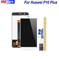 For Huawei P10 Plus LCD Display and Touch Screen Digitizer Assembly Replacement +Tools And Adhesive