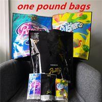 COOKIES California 1 Pound ROSA + Runtz Bianco Gushers Mylar a prova di bambino sacchetti di imballaggio collegabili Cookies Formato del sacchetto uno Borse libbra DHL libera