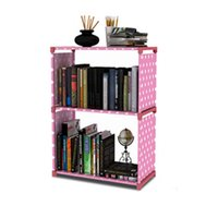 Minimalist Bookcase Modern Creative Home Decoration Assembly...