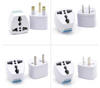 Универсальный адаптер питания Путешествия адаптер AU EU США Великобритания Plug зарядное устройство адаптер конвертер 3 Pin AC Power для Samsung S8 LG HTC сотовый телефон