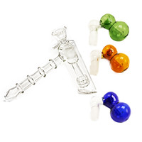 Glass Hammer 6 Arm Smoking Pipes Perc Glass Percolator 3 Sty...