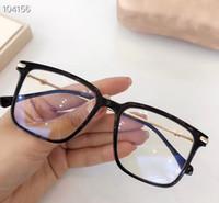 Nuovi GG5170 Bigrim struttura di vetro di qualità anti-UV Blu Occhiali per le donne ultra-light Plank + metallo per Occhiali Caso Fullset
