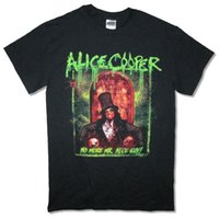 Alice Cooper RIP Monsieur Nice Guy World Tour 2015 T-shirt Noir Nouveau Merch Officiel