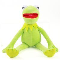 42 cm Kermit Peluche Giocattoli Sesame Street Street Rana Bambola Piecile Animale Kermit Giocattolo Drop Shipping Regali per vacanze