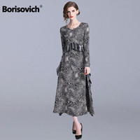 Borisovich Women Casual Long Dress New Brand 2019 Spring Fas...