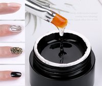 Сверхпрочная Top Coat Клей Клей для UV / LED ногтей Rhinestone Нет Wipe Маникюр УФ гель лак для ногтей Art Polish Tool G218
