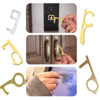 Hygiene Door Opener Tools EDC Door Closer Key Ring No- Touch ...