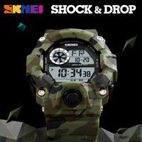 Großhandel G-Art-Männer Sportuhren Chronograph Military Digital-Armbanduhren Tarnung Shock Resistant Montre Homme Erkek Saat