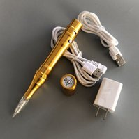 Hot Sell Tattoo Permanent Makeup Pen Gold   Silver Wireless ...