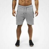 Comfortable Plus Size Fitness Mens Bodybuilding Shorts Summe...