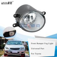 ZUK Frente nevoeiro Fog lâmpada para Toyota Avensis YARIS RAV4 CAMRY COROLLA MATRIX VENZA PRIUS para Lexus RX270 LX570 GS350 HS250h