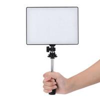 LED فيديو كاميرا ضوء التصوير الفوتوغرافي ملء أضواء لشركة كانون نيكون بنتاكس سوني أوليمبوس 3200K-5500K درجة الحرارة