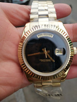 2021 الفاخرة 40 ملليمتر caydate أسود اللون للرجال ووتش جودة عالية الفاخرة ساعة اليد الفولاذ المقاوم للصدأ التلقائي ميكانيكية رجل ووتش ووتش