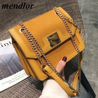 Fashion Female Square Bag 2018 New Quality Matte Leather Wom...