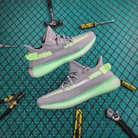 True Form Lime 2019 Nouveau GID Glow In The Dark Argile True Red Glow V2 Hommes Chaussures De Course Chaussures De Sport Static Sport Baskets Designer Taille 40-46
