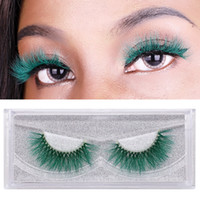 Colorful 9D Mink Eyelashes Colorful Mink Lashes Eyelash Exte...