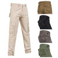 Plus la taille 28-40 nouveaux hommes Pantalon cargo tactique salopette armée Casual travail pantalon pantalon style pantalon