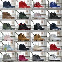 الجملة أحذية رياضية أحذية شتاء أحذية جلدية مصمم الرجال النساء أحذية الكاحل الأصفر الأحمر الأزرق الأسود الوردي الرياضة الحجم 36-47