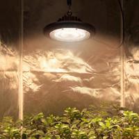 LED تنمو المصباح الكهربائي، 100W 150W 200W ماء الطيف الكامل تنمو الأنوار للنباتات الداخلية، مصباح النباتات ufo