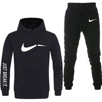 Mens tuta 2 set di New Fashion Jacket Sportswear Men's S Sweatpants con cappuccio Primavera e autunno Men's Brand Hoodies Pants M-2XL