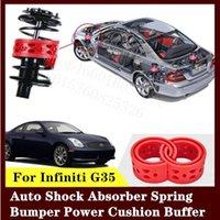 Для Infiniti G35 2шт высококачественный передний или задний автомобильный амортизатор пружинный бампер мощность авто-буфера автомобильная подушка уретан