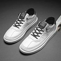 Scarpe casuali degli uomini di marca delle scarpe da tennis molle respirabile di alta qualità Estate Tessuto scarpe di cuoio casual Krasovki Zapatos Hombre *