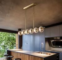 النحاس الفاخرة غرفة المعيشة الثريات متعددة رئيس الصمام postmodern إضاءة جديدة شنقا تركيبات فيلا اللوبي كريستال الفن الثريا مي