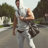 Body Engineers Men Cotton Hoodie Sweatshirts Fitness Clothing Bodybuilding Tank Top Men Sleeveless Tees Shirt Casual Golds Vest1