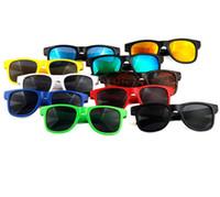 Bebê crianças bonito Anti-uv óculos de sol Sun-shading ao ar livre óculos Boy Girl Sunglass viajar coloridas tipos Acessórios óculos