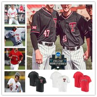 Personalizado 2020 Texas Tech TTU Colégio Baseball Jersey CALEB KILIAN Josh Jung CALEB FREEMAN BRAXTON FULFORD CONNOR do Queen, Brian KLEIN Lanning 4XL