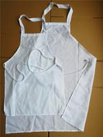 Sublimation Schürzen Sublimation Polyester blank Schürze heiß Transferdruck leere Verbrauchsmaterialien für Erwachsene und Kinder Stil große Promotion