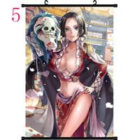 One Piece Hancock Assassins Color Fantasy evocativi Arte astratta Laminas Decorativas Pared Robin Nami Cuadros pittura dai numeri HD fai da te