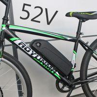 52V 17.5AH 1000W 1500W Hailong Akü 18650 Hücre Elektrikli bisiklet E-bisiklet BBS02 BBSHD Bafang motoru