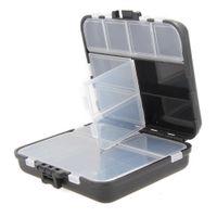 Отсек для хранения коробка пластиковая рыболовная приманка ложка крючок приманка снасти коробка аксессуар квадратный рыболовный крючок YDY0507