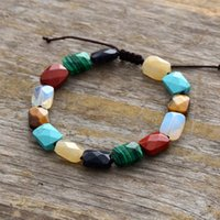 in stock Exclusive New 7 Chakra Bracelets Natural Stone Wome...