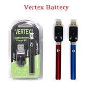 510 Batería Blister Kit 350/650 / 100mAh LEY V-Vape Vertex Precalentar Vape Pen 5 0 Thread USB individual del paquete de ampolla Vape batería 2