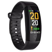 QS01 Smart-Armband-Uhr-Fitness Tracker Blutdruck-Puls-Monitor-Smart-Uhren Wasserdichte Smartwatch für iPhone und Android-Uhr