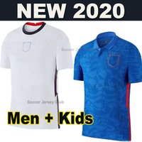Top Thaïlande Jersey Soccer Jersey Euro Coupe 2021 2022 Kane Sterling Rashford 20 21 Équipes nationales T-shirts de football Hommes + Kit Kit Ensemble Uniformes