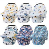 Cubierta de enfermería para bebés Cochecito infantil cubierto de asiento de coche cubierta cubierta de la compras de silla alta cubierta de lactancia Cubiertas de lactancia materna Lactancia materna WRAP C7325