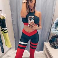 GXQIL Охладить Gym Одежда 2 шт Спортивная женщина Dry Fit Фитнес костюм тренировки Одежда для женщин 2019 Бюстгальтер Legging Йога Костюм S
