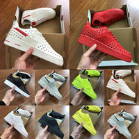 Tamanho EUA 13 2019 forças Tênis de corrida kpu 1s Dunk 1 low Triple White black star men Forced skate sneaker Sports trainer sneakers women shoe