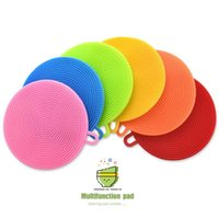 1PC Silicone Dish Pot Plate Washing Antibacterial Mildew- Fre...