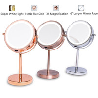 "6"" 1X 3X Magnifying Double Sided Mirror With Stand 18 L..."