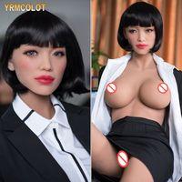 Yrmcolot Nowy 158 cm Sex Dolls Silikonowe Seksowne Piękno Realistyczne Słodka Dziewczyna Doustna Lalka Lalka Realistyczna Odbyt Pochwy Seksowne Zabawki dla dorosłych