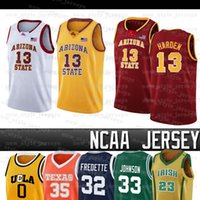 James NCAA Arizona Jersey State Harden Brigham Young Cougars 32 Jimmer Fredette Uomini Wade Butler James LeBron Basketball Maglie