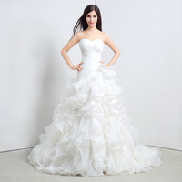 Factory Direct Sales Bra fishtail wedding dress Foreign trad...