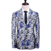 Herrenanzüge Blazer QJ Cinga Marke Anzug Jacke Größe S-5XL, Mode Business Casual Männliche Blazer Mantel, Blau Rot Schwarz Gold Jaqueta